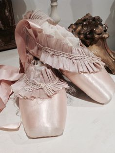 Decorative Professional Pointe Ballet Shoes by DivineDecline
