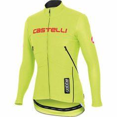 Castelli Gabba WS Jersey - Long-Sleeve - Men s Yellow Fluo Reflective  Silver 60fae20ab