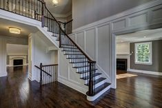 Example of builders works on Twin Brooks at Warren Township NJ. Starting this fall 11 custom-built new homes on 2 Cul-de-sacs of 1.5 to 4+ acre lots. Info Call Jane 908-313-7180 or Paul 908-310-1358. Staircase Ideas, New Construction, Acre, Twin, New Homes, Stairs, Real Estate, Luxury, Fall