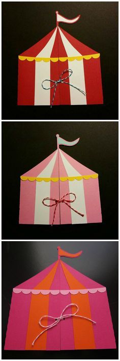 Circus Tent Invitation von SassyPapier auf Etsy