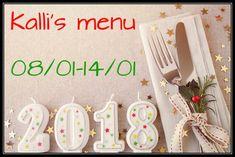 Μιας και η πρώτη Κυριακή του έτους, το πρώτο μας μενού της εβδομάδας!  Σας έλειψε;; Η Ρούλα Φιλιππούση μας προτείνει γευστικές επιλογές από αγαπημένα blogs! Enjoy! http://www.kallisblog.gr/2018/01/0801-1401.html
