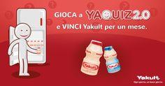 Gioca a #Yaquiz 2.0 e vinci una fornitura di #Yakult al mese! :D #ad