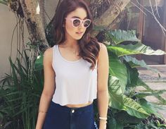10 Celebrity-Approved Ways To Wear Your Blue Jeans Julia Baretto, Instagram Challenge, Filipina, Celebs, Celebrities, Her Style, Girl Crushes, Style Icons, Blue Jeans