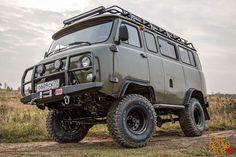 УАЗ 2206 Буханка ОРК от тюнинг-ателье Автовентури.