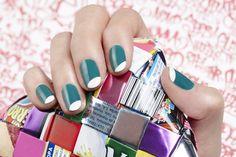 Oval Tips by JINsoon | Sephora Beauty Board #Sephora #nailart