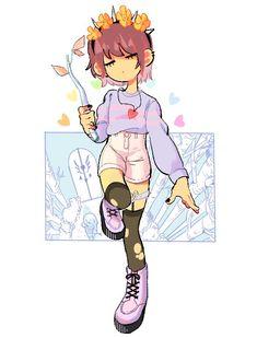 Awwwwww so cute frisk ♥️♥️♥️😋😋 Sans E Frisk, Undertale Love, Anime Undertale, Undertale Memes, Undertale Drawings, Fan Art, Deidara Wallpaper, The Ancient Magus Bride, Rpg Horror Games