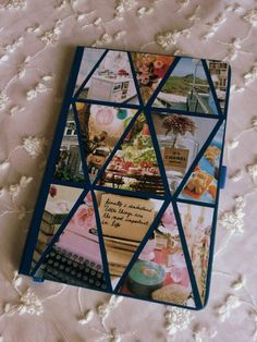 Diy book cover cute crafts pinterest crafts and journal love this do it yourself notebook solutioingenieria Images