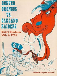 Broncos vs Raiders 1962