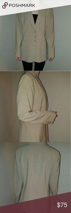 NWT Nieman Marcus Size 10 for ladies jacket. Nieman Marcus Size 10 for ladies jacket. So pretty.95%  wool 5% spandex. Nieman Marcus Jackets & Coats