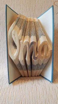 Oma Grandma in German Book Folding by ZoesNovelCreations on Etsy