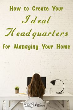 What goes into creating the ideal spot for managing your home? Want to be better organized - and even enjoy the process? Here is how you can set up a lovely and efficient headquarters from your very own home.