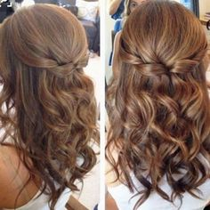 Wedding hairstyle ideas for bridesmaids and bride - great prom hair style ideas too! #weddinghairstyles #weddingideas #bridesmaidhair #bridehairstyles #hairstyles #promhairstyles #promhair #weddinghairstyle #diywedding #hairstyles