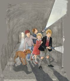 'Five Go Adventuring Again' Helen Oxenbury – House Of Illustration