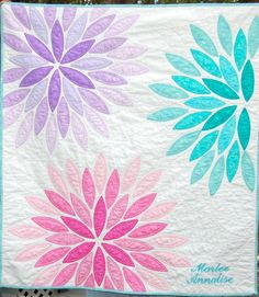 Stormy Days: Let's Book It April 2016 Sea Glass Quilt Pattern