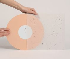 coloured vinyl record transparant packaging