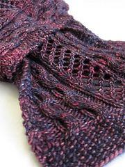 Ravelry: Kirkcaldy Scarf pattern by Laura Simeon