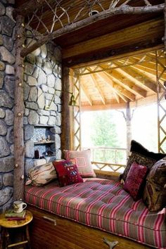 The perfect place to curl up with a book and cup of coffee on a lazy Saturday!