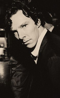 Benedict, you know that you can't give me that look while we're around people! You know exactly what happens to me when you give me that look so save it for later lover! =P