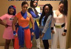 Dragonball Z EPIC cosplay. Squad goals.