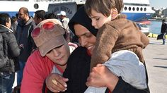 Cristal Logothetis was working in a refugee camp in Athens last month when she spotted a boy about 10 years old holding a baby in a crowd of