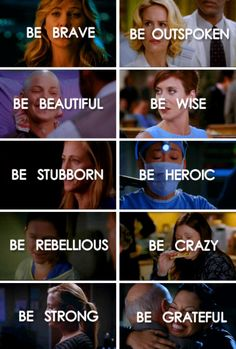 Grey's Anatomy - Be yourself