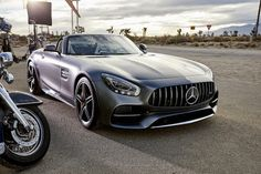 Intense freedom. Now on four wheels. #easydriver 🏈 Get the full story: http://mb4.me/EasyDriver_g [Mercedes-AMG GT C Roadster | Combined fuel consum... - Mercedes-Benz - Google+