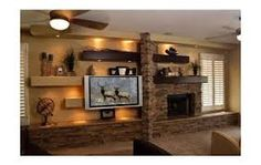 cosy drywall entertainment centers. custom entertainment centers with fireplace Stylish built in shelves and TV of plasterboard for modern