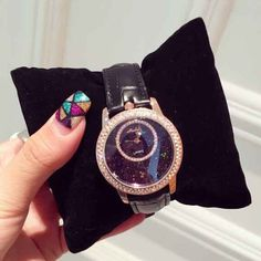 7 Colors Hot Sales Women Rhinestone Watches Fashion Austrian Crystal Ceramic Leather Band Women Dress Watches Drop Ship