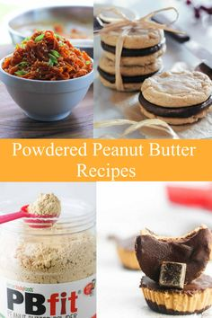 Reasons to use Peanut Butter Powdered: Low in fat & calories. If you are a peanut butter lover, you'll enjoy healthy peanut butter powder&rs. Healthy Desserts, Healthy Dinner Recipes, Delicious Desserts, Healthy Meals, Healthy Peanut Butter, Peanut Butter Recipes, Ww Recipes, Dessert Recipes, Desert Recipes