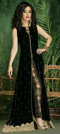Custom made available at Royal Threads Boutique. Pakistani Dresses, Indian Dresses, Stylish Dresses, Fashion Dresses, Asian Fashion, Girl Fashion, Desi Clothes, Anarkali, Churidar