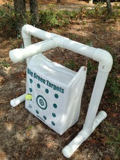 PVC target stand,