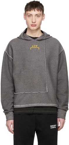 A-Cold-Wall* - Grey Signature Hoodie