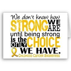 Childhood Cancer Awareness ♥ Shaina, you are one of the strongest people I know!!!