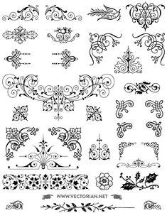 Die 1852 Besten Bilder Von Ornamente In 2019 Stencil Templates