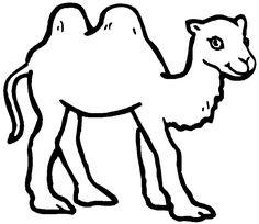 kamel ausmalbild – Ausmalbilder für kinder