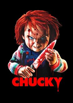 Chucky Movies, Chucky Horror Movie, Horror Movie Characters, Horror Movie Posters, Child's Play Movie, Childs Play Chucky, Horror Drawing, Horror Artwork, Horror Icons
