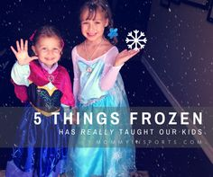 5 Things Frozen Has Really Taught Our Kids Creative Activities, Activities For Kids, Crafts For Kids, Frozen Birthday Party, Our Kids, 5 Things, Parenting Advice, Helping Others, Good Times