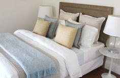 Coastal bedroom, Bowerbird Interiors