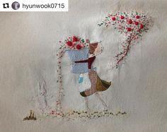 @hyunwook0715 #embroidery #broderie #bordado #ricamo #handembroidery #needlework