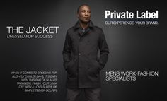 GA Creative Brands' Private Label Men's Work-Fashion Specialists - home of Jonathan D and Cutty. Designed to provide our clients with a top-notch clothing manufacturing service, GA Creative Brands works with you to design and create your very own label. Creative Brands, Slim Fit Trousers, Private Label, Dress For Success, Work Fashion, Things To Come, Create, Clothing, Top