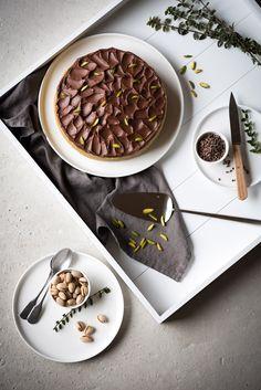 Gâteau Pistache Chocolat | Lilie Bakery