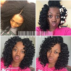I have to learn how to do this to my hair!!