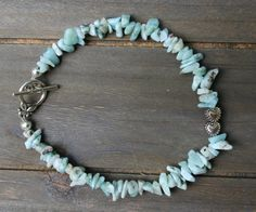 Be The Star That You Are Larimar Twinflame Bracelet 2 Cute Little Hearts door EASTERNSOULS op Etsy