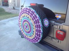 Spare Tire Cover by Unique2who on Etsy
