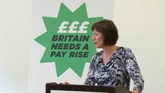 Frances O'Grady at Congress 2013 - her first Congress as General Secretary of the TUC