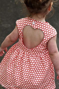 i hated my back being out as a kid, wonder if my daughter will be the same lololol : Cute baby dress❤