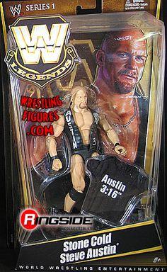 WWE Elite Legends Stone Cold Steve Austin New unopened Austin Wwe, Steve Austin, Wwf Superstars, Wrestling Superstars, Figuras Wwe, Eddie Guerrero, Wwe Toys, Wwe Action Figures, Stone Cold Steve