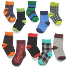 Lets Have Sox Combo Child 10 Pack now featured on Fab.