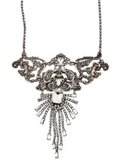 Vintage filigree necklace by Tom Binns | Apprl - Social Shopping