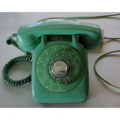 Rotary Phone now featured on Fab.  Member these?